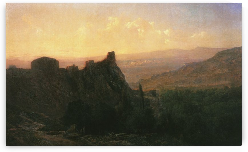 View of Tiflis by Ivan Aivazovsky