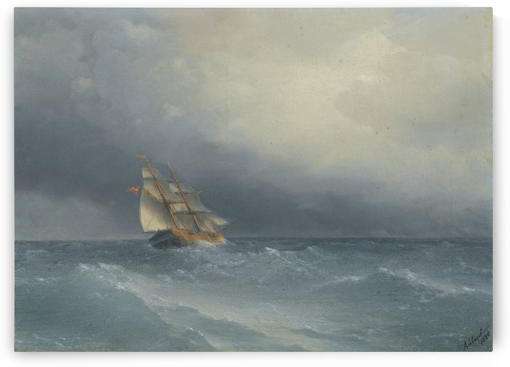 Out in the sea by Ivan Aivazovsky