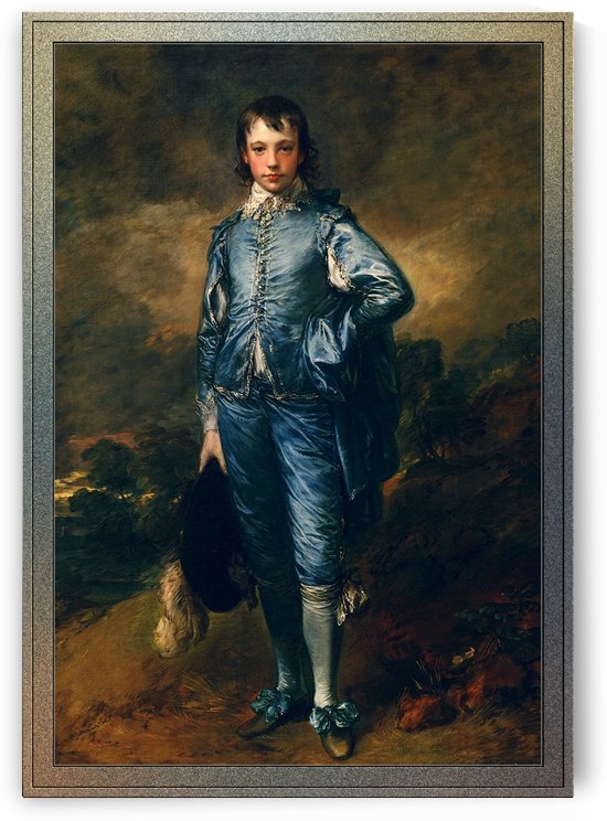 The Blue Boy by Thomas Gainsborough by xzendor7