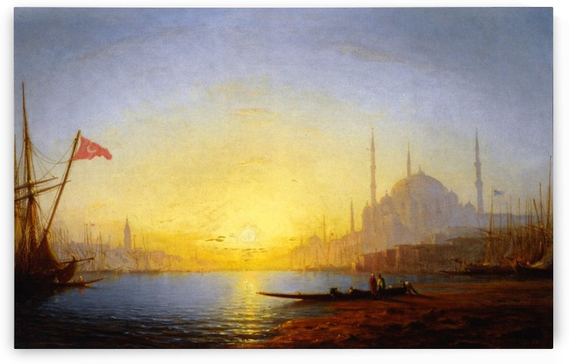 View of Constantinople by Ivan Aivazovsky