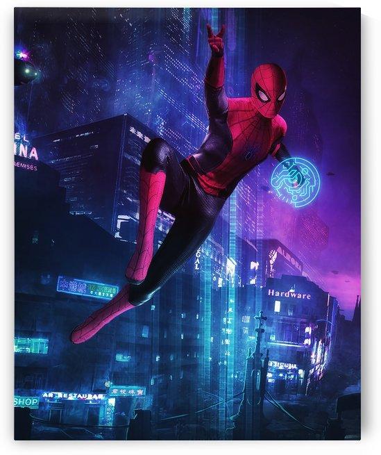 Spiderman X CyberPunk  by VINDZHENCHMAN