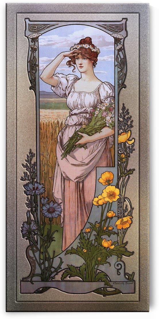 Wildflowers by Elisabeth Sonrel by xzendor7
