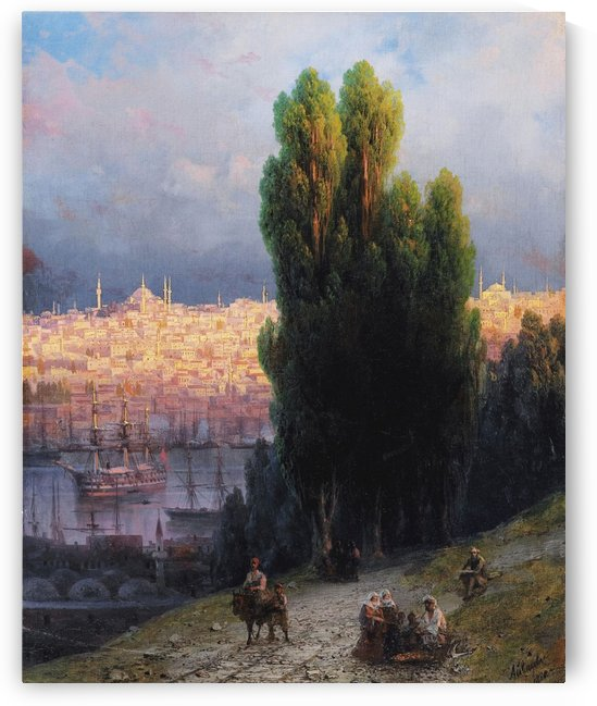 Constantinople 1880 by Ivan Aivazovsky