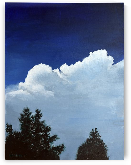 Storm Clouds Over Pine Tops by Shadow and Form