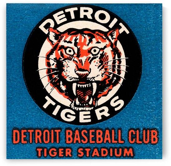 1963 Detroit Tigers Vintage Baseball Club by Row One Brand