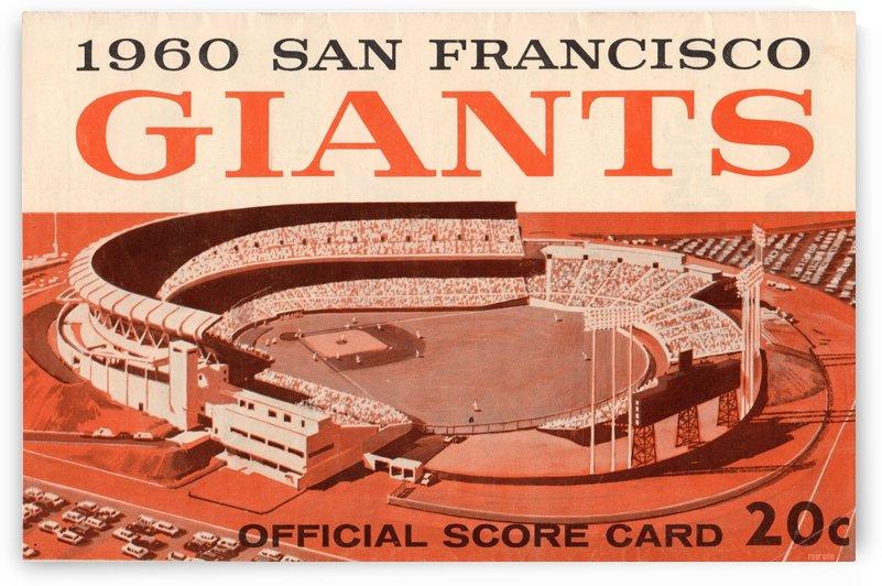 1960 San Francisco Giants by Row One Brand