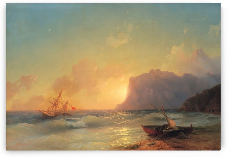 Sea. Koktebel by Ivan Aivazovsky