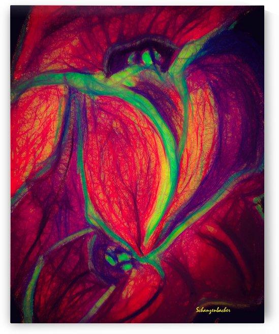 Electric Flowers by Aurelia Schanzenbacher Sisters Fine Arts