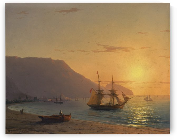 Sunset in Crimea by Ivan Aivazovsky
