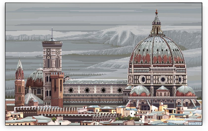 Winter in Florence by Archipicsstore