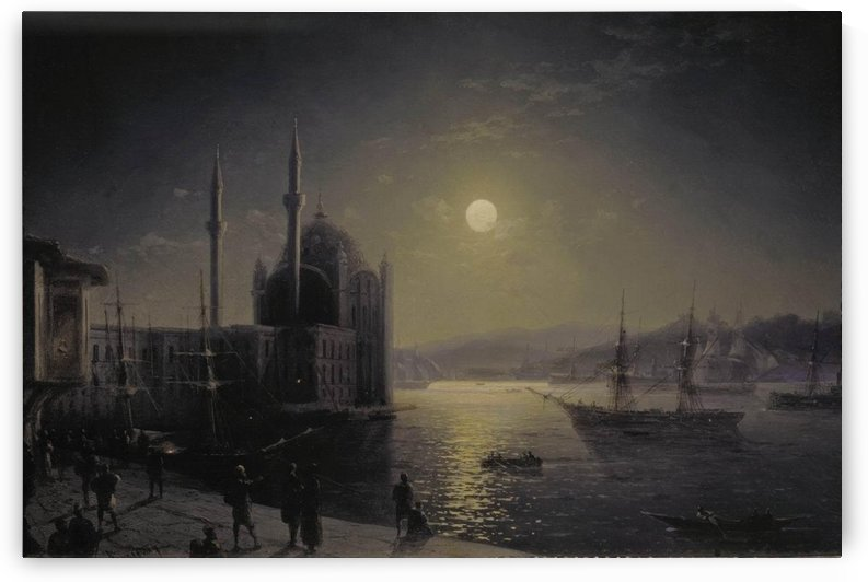 Moonlight on the Bosphorus by Ivan Aivazovsky