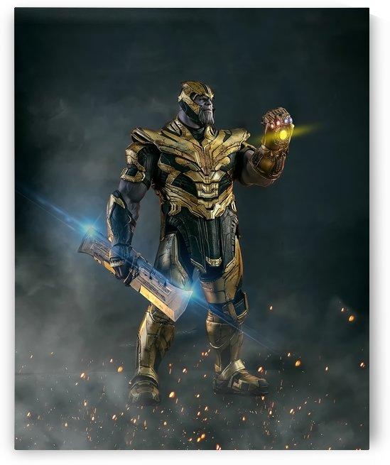 Thanos by VINDZHENCHMAN