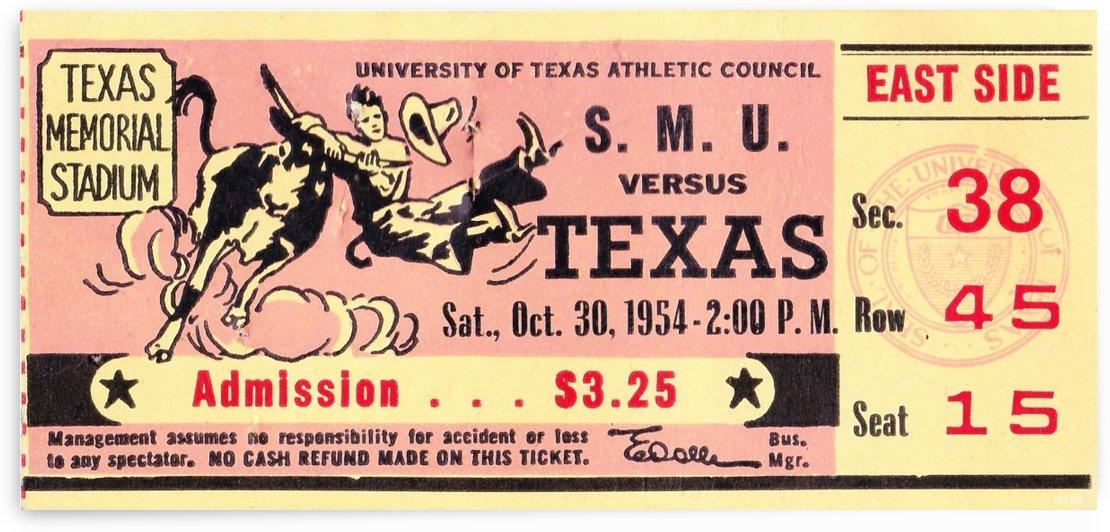 1954_College_Football_Texas vs. SMU_Texas Memorial Stadium_Austin_Row One Brand by Row One Brand