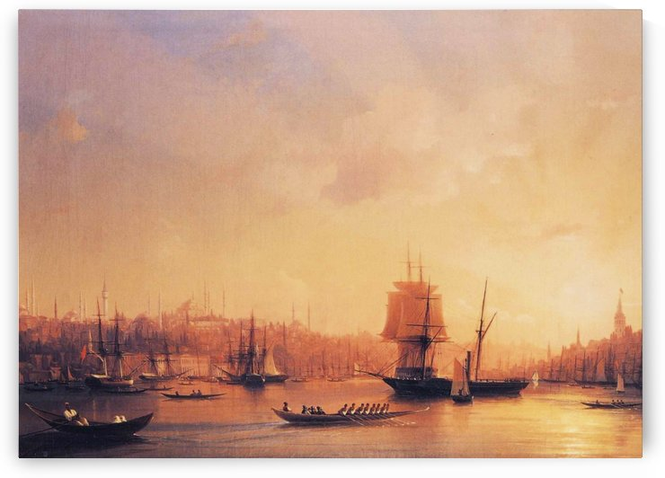 Dusk on the Golden Horn by Ivan Aivazovsky
