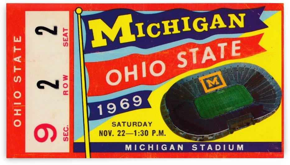 1969_College_Football_Ohio State vs. Michigan_Michigan Stadium_Ann Arbor_Row One by Row One Brand