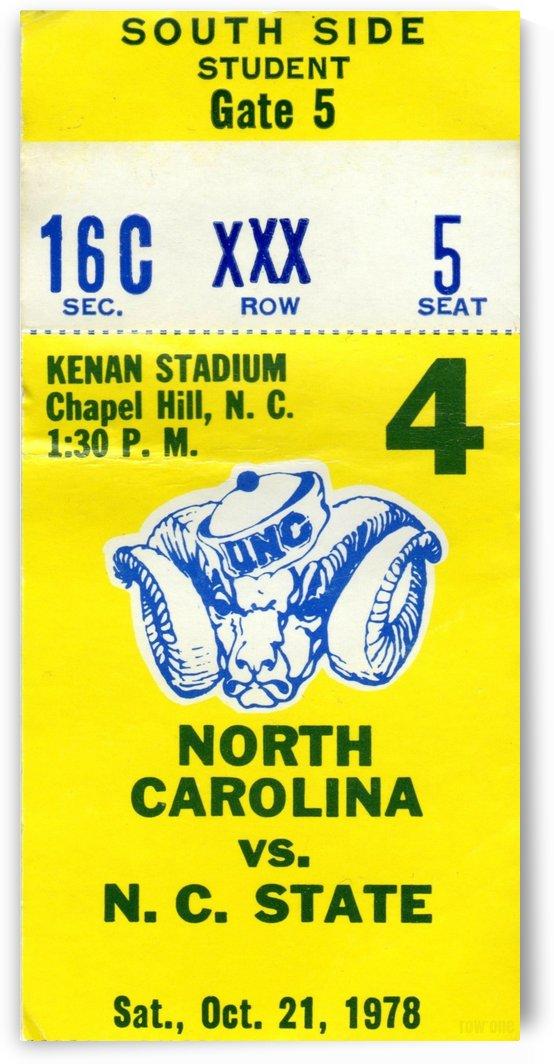 1978_College_Football_North Carolina State vs. North Carolina_Kenan Stadium_Chapel Hill_Row One by Row One Brand