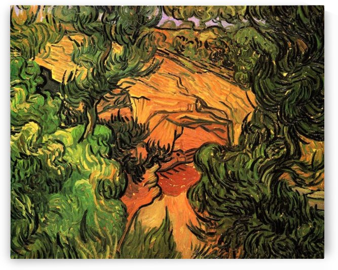 Entrance to a Quarry by Van Gogh by Van Gogh