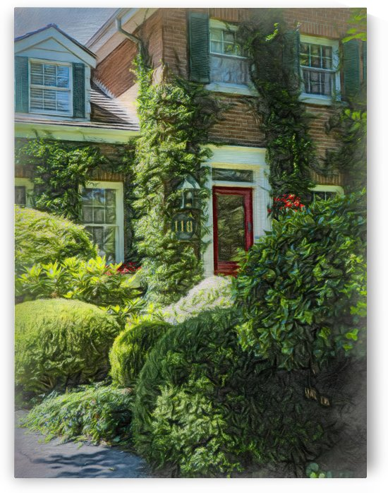 Well Groomed and Manicured House by Leslie Montgomery