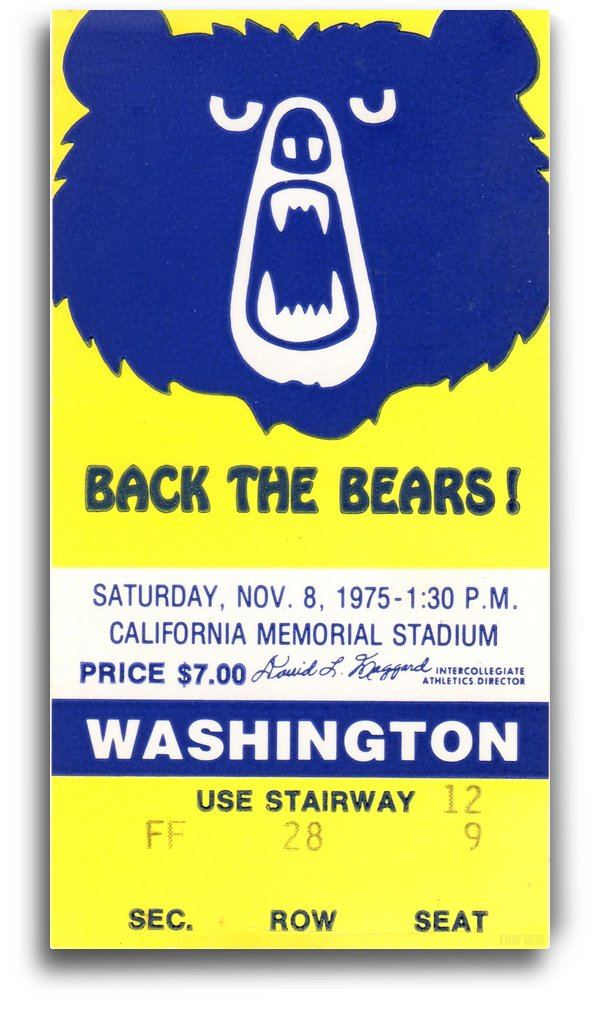 1975_College_Football_California vs. Washington_California Memorial Stadium_Row One by Row One Brand