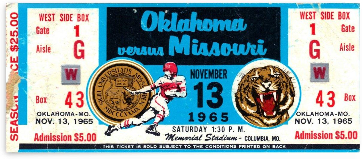 1965_College_Football_Oklahoma vs. Missouri_Memorial Stadium_Columbia_Row One by Row One Brand