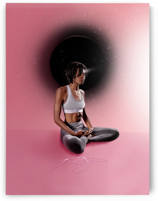 Meditation by Afrocentric Painter