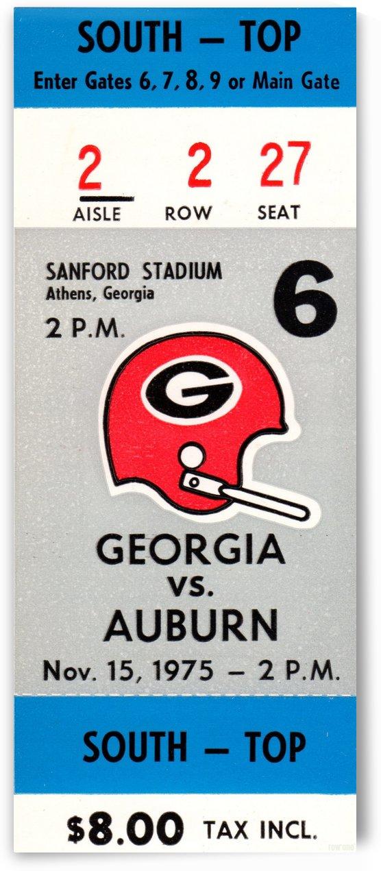 1975_College_Football_Georgia vs. Auburn_Sanford Stadium_Athens_Row One by Row One Brand