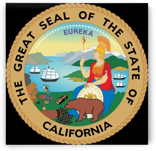 California Great Seal by Fun With Flags