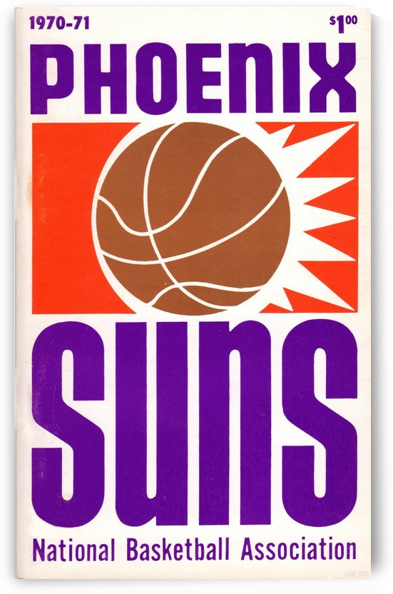 1970_National Basketball Association_Phoenix Suns_Media Guide_Row One Brand by Row One Brand
