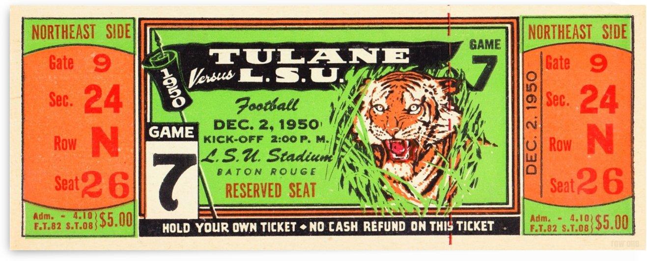 1950_College_Football_Tulane vs. LSU_Tiger Stadium_Baton Rouge_Row One Brand by Row One Brand
