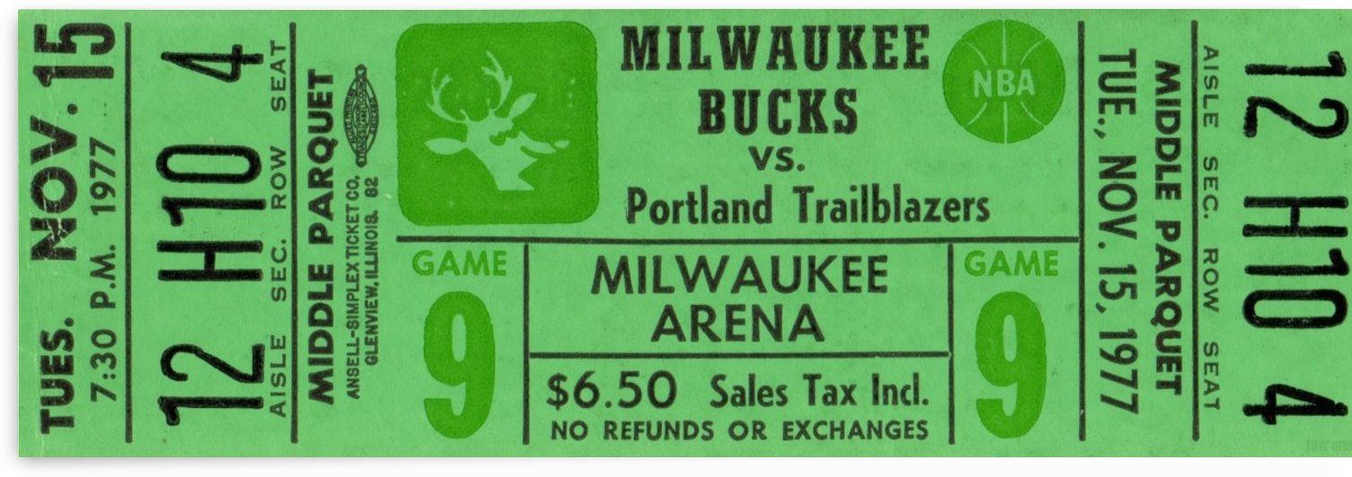 1977_National Basketball Association_Milwaukee Bucks_Row One Brand by Row One Brand
