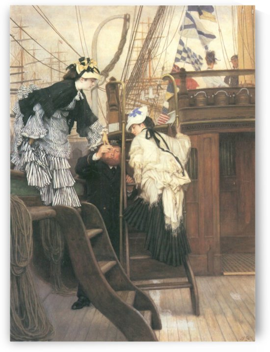 Entry to the yacht by Tissot by Tissot