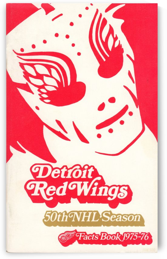 1975_National Hockey League_Detroit Red Wings_Olympia Stadium_Row One Brand by Row One Brand