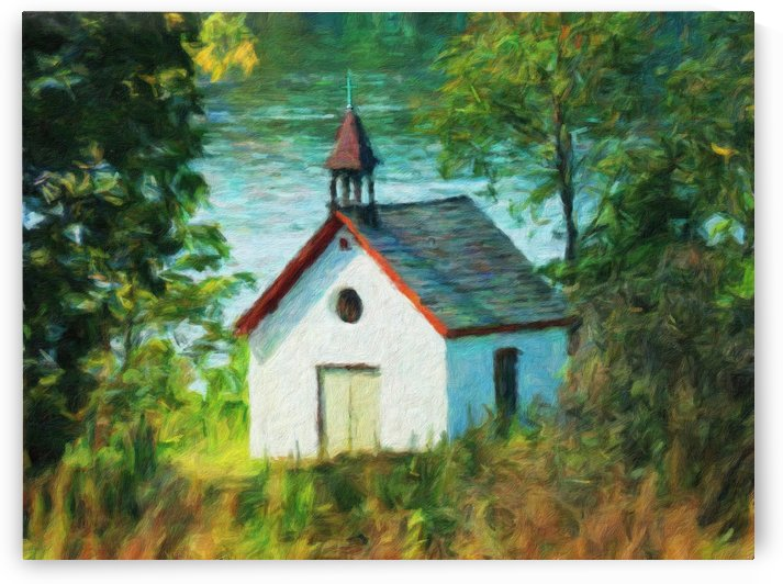 Riverside Chapel by Leslie Montgomery