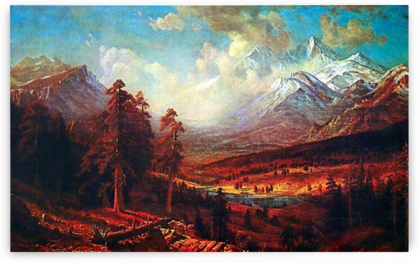 Estes Park by Bierstadt by Bierstadt