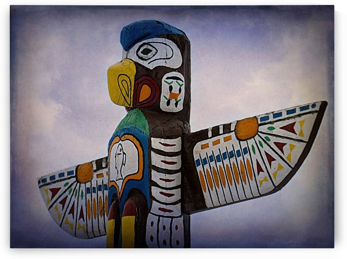 Top Of The Totem by Leslie Montgomery