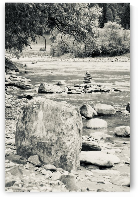 A Small Stream in Susch invites for Yoga Qi-Gong and other Mindful Moments V by Swiss Art by Patrick Kobler