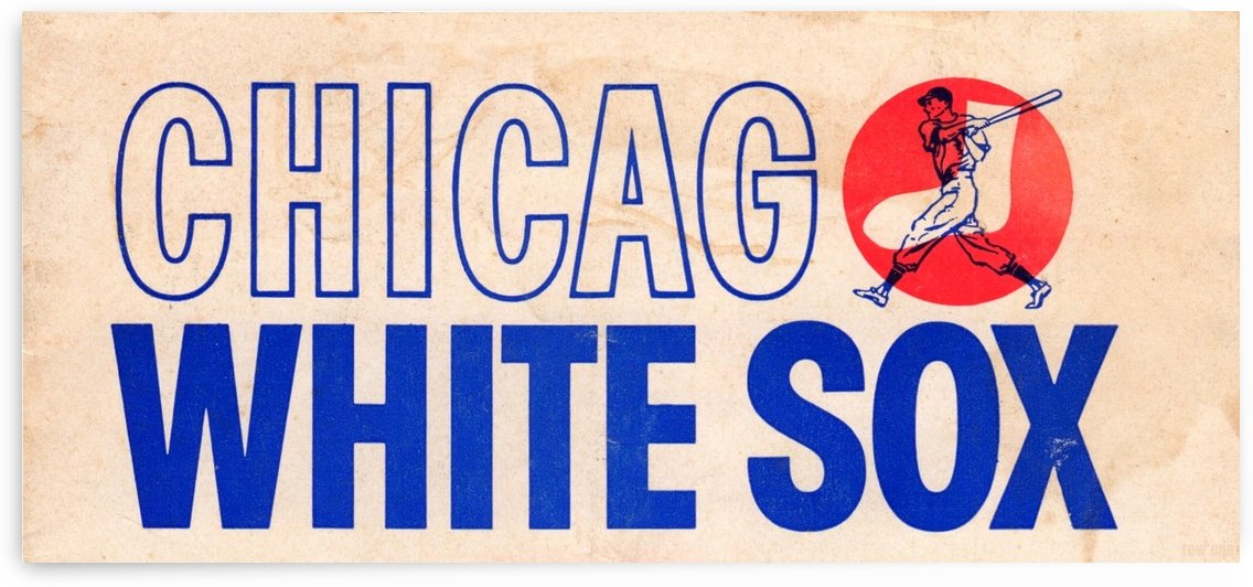 1962 Chicago White Sox Art by Row One Brand