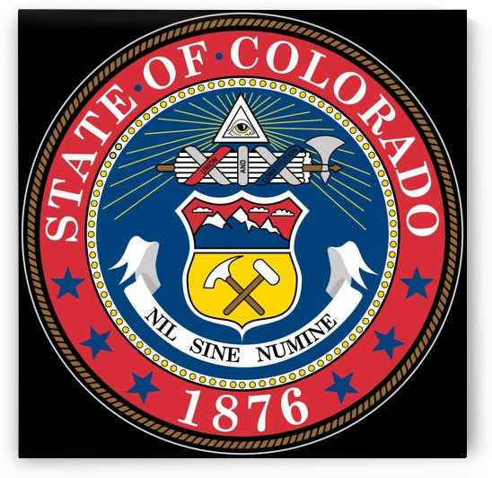 Colorado Great Seal by Fun With Flags
