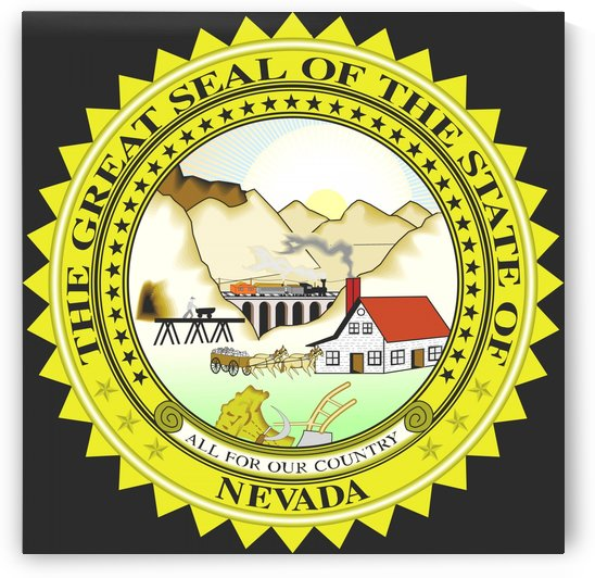 Nevada Great Seal by Fun With Flags