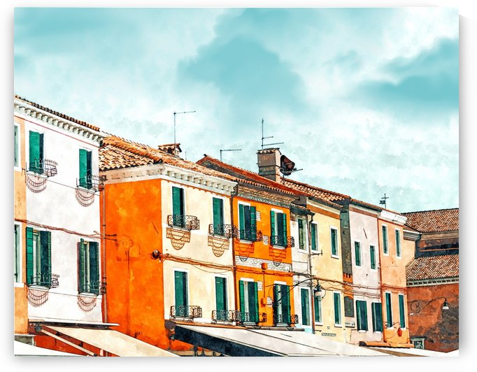 Burano Island by 83 Oranges