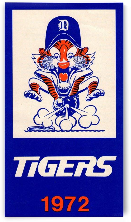 1972_Major League Baseball_Detroit Tigers_Row One Brand Sports by Row One Brand