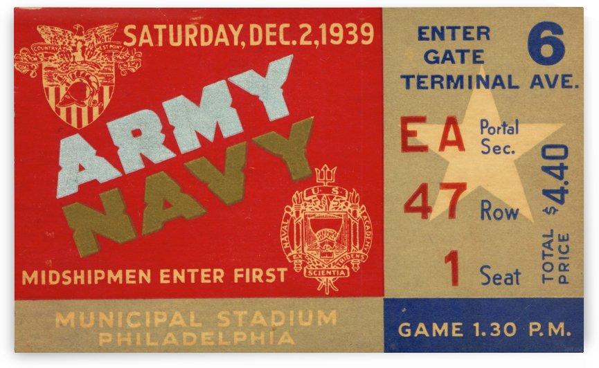 1939 Army vs. Navy by Row One Brand