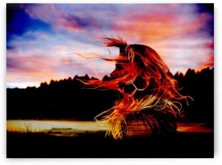 Red Skies At Night by Verinder Grewal Photography