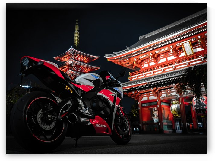 Honda At The Temple by Verinder Grewal Photography