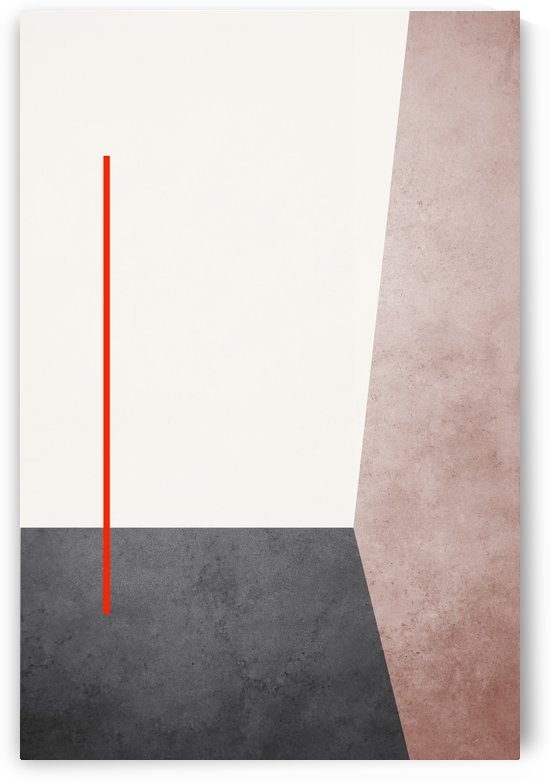 Textured Shapes 04 - Abstract Geometric Art Print by Adriano Oliveira