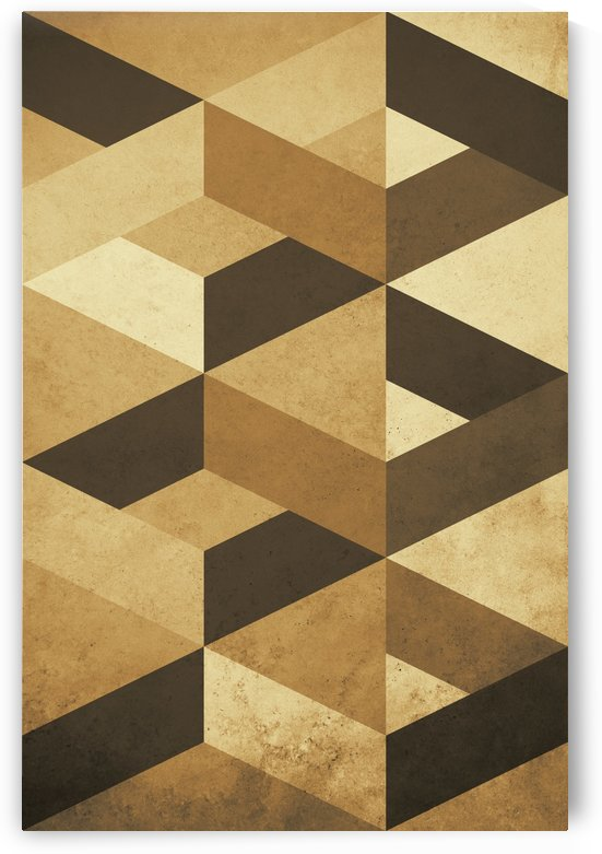 Textured Shapes nº 07 by Adriano Oliveira