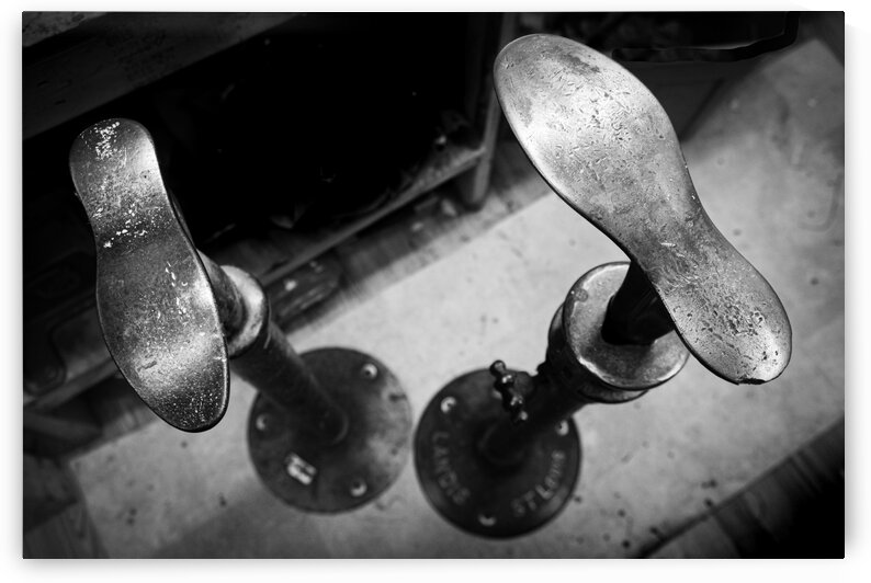 The Cobblers Shoestands by Dave Therrien