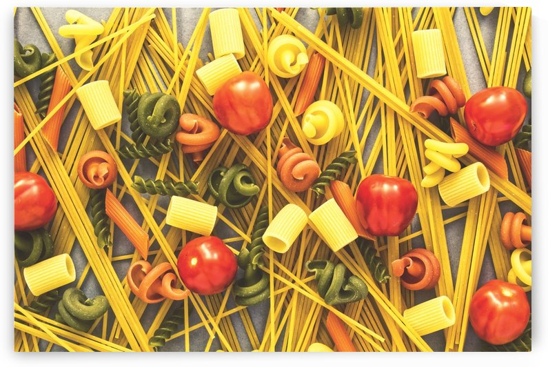 Italian Pasta - opaque by Bentivoglio Photography