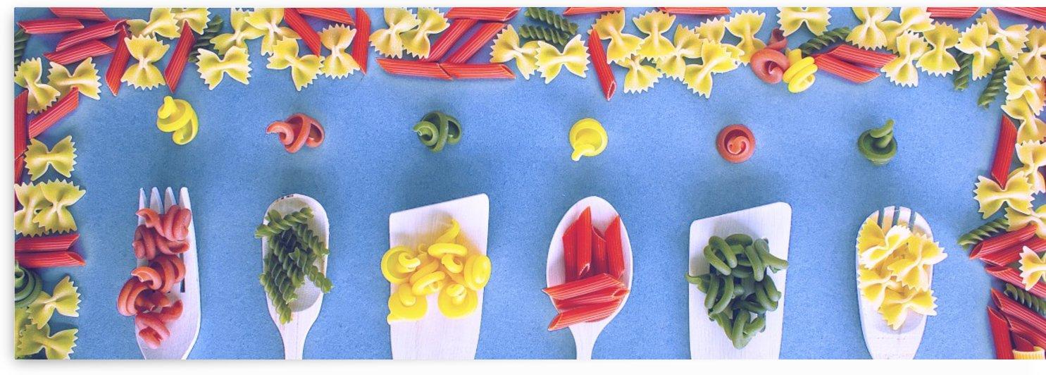 Colourful pasta- opaque by Bentivoglio Photography