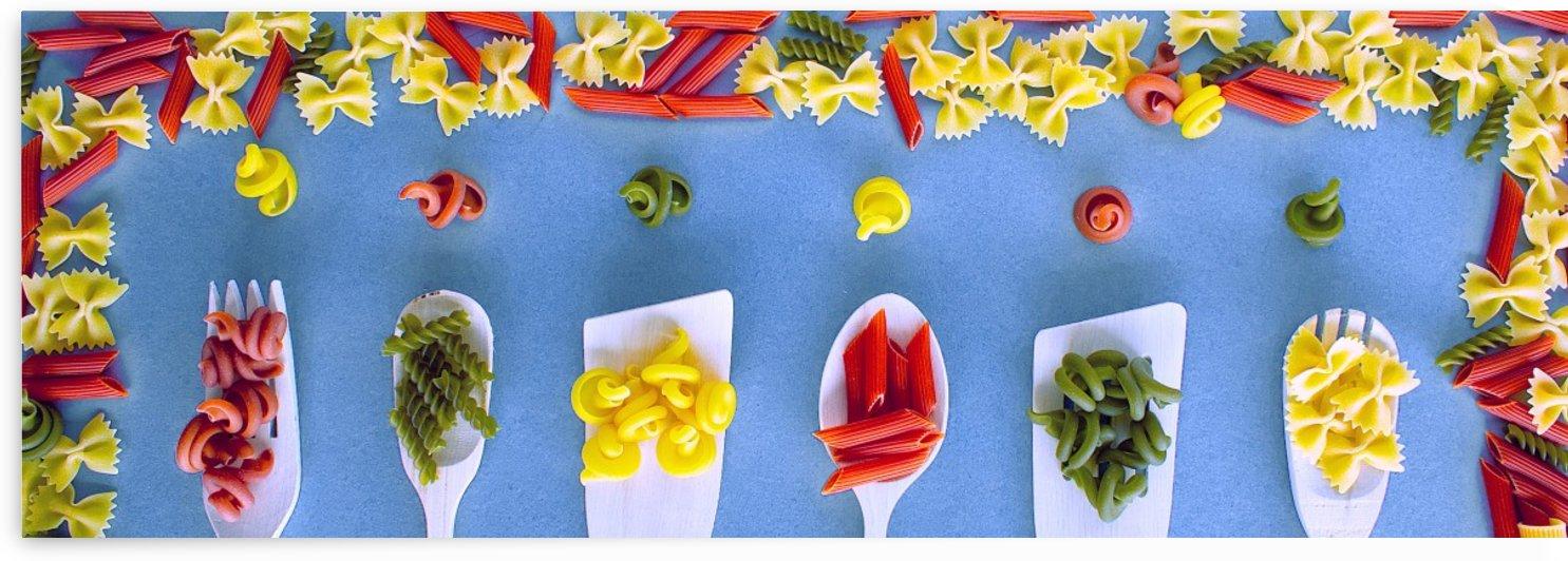 Colourful Pasta by Bentivoglio Photography